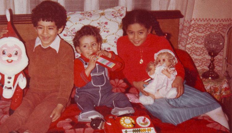 1983 - الأبناء داليا - مازن - حامد