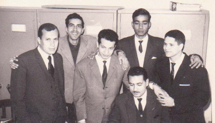 1967 - مكتب الازبكية - منير حمدي - محمد العسال - الصياد - صلاح أحمد - عادل عبدالمنعم - شبل