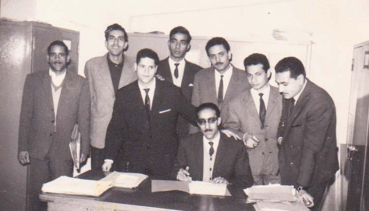 1967 - مكتب الازبكية - الصياد - ناجي رومان - صلاح أحمد - معتز - محمد العسال - منير حمدي - عادل عبدالمنعم - ملك