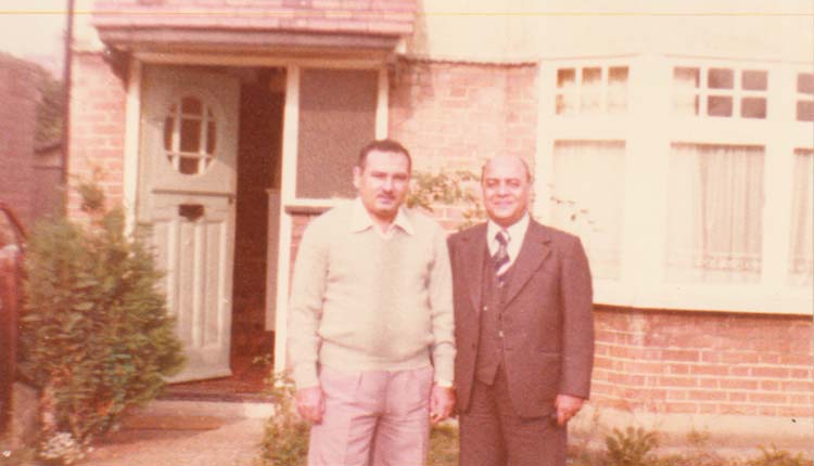 1981 - انجلترا - لندن - محمد حسن - الصياد