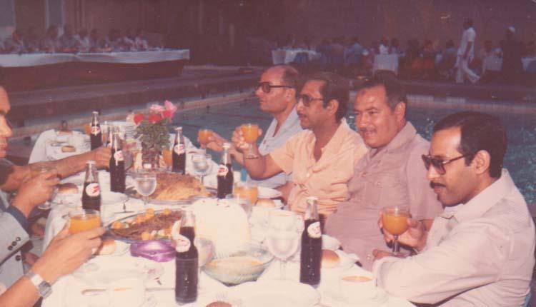 1983 - حفل إفطار الهيئة بنادي الظباط - محمد عبدالحليم - الصياد