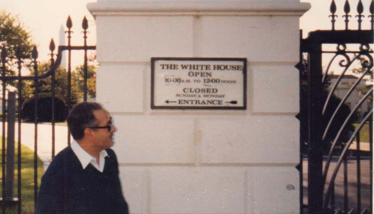 1983 - الولايات المتحدة الأمريكية - واشنطن - البيت الأبيض