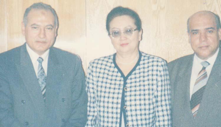 1994 - كازاخستان - ألماتا - السفير المصري - وزيرة الحماية الاجتماعية - الصياد
