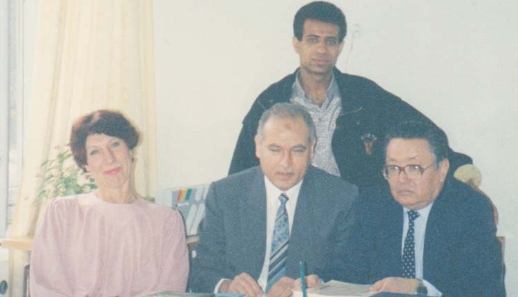 1994 - كازاخستان - ألماتا - وكيل الوزارة - الصياد - جالينا (رئيس قسم المعاشات) - محمد علي (مترجم يمني)