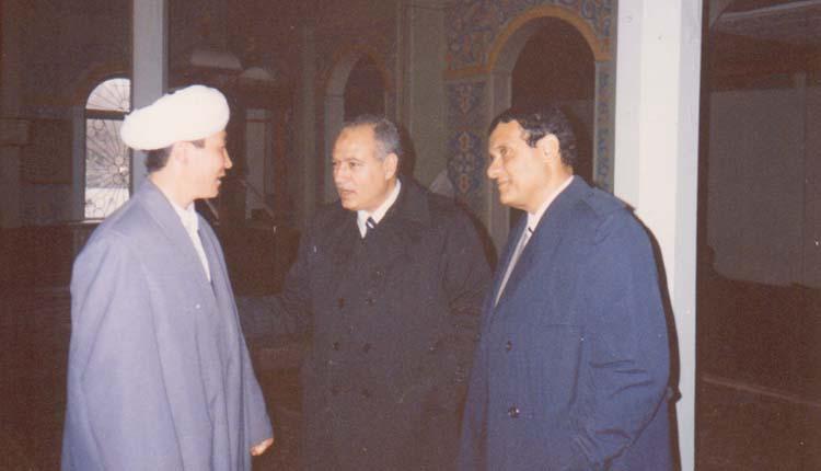 1994 - كازاخستان - ألماتا - اللواء إبراهيم رضوان - الصياد - إمام مسجد ألماتا