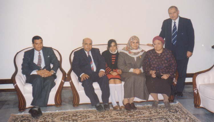 1994 - كازاخستان - ألماتا - منزل السفير - الصياد - دكتورة مشيرة الشافعي - زوجة السفير - إبنة السفير - السفير - اللواء إبراهيم رضوان