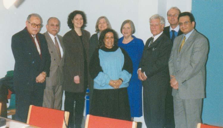 1998 - الدنمارك - كوبنهاجن - القنصل المصري - الوفد الدنماركي - كماليا - محمد عطيه - الصياد