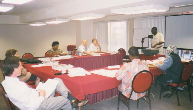 1999 - الولايات المتحدة الأمريكية - واشنطن - برنامج إصلاح التأمين الإجتماعي - الصياد - محمد عطيه - بعض اعضاء البرنامج